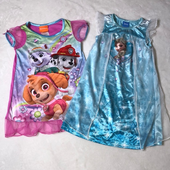 Disney Pajamas   Toddler Girls Summer Nightgowns Frozen 2t   Poshmark